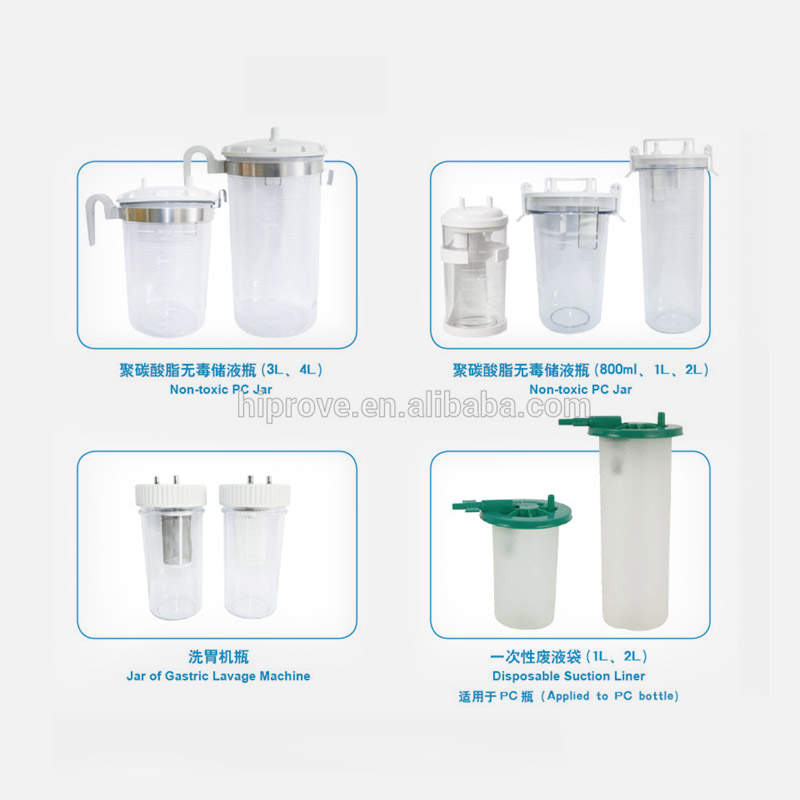 Non-toxic PC Suction Jar