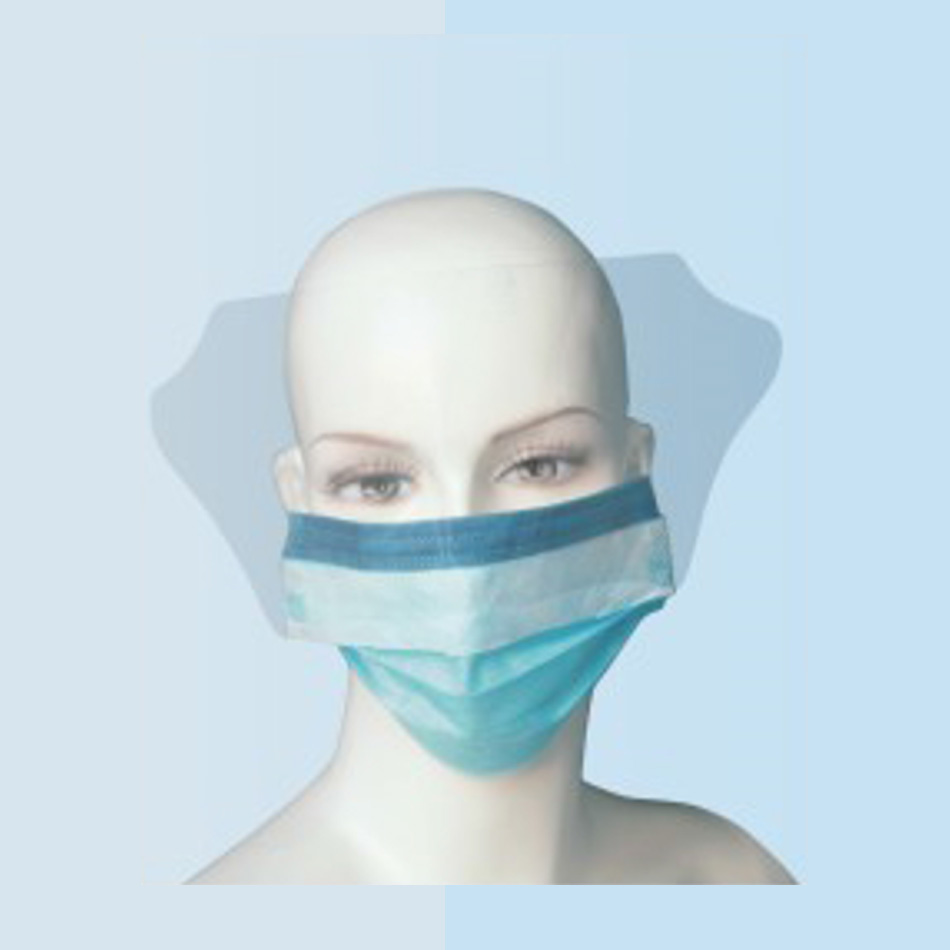 FACE MASK WITH EYE-SHIELD ( ANTI-FOG )