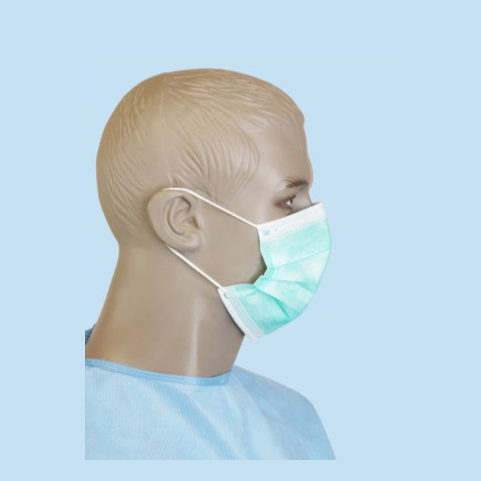 FACE MASK WITH EAR-LOOP